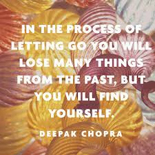 Quote About Letting Go - Deepak Chopra via Relatably.com