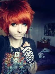 Resultado de imagen de emo hair tumblr