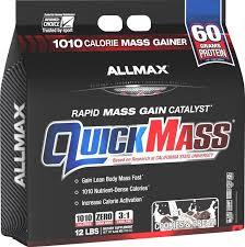 AllMax Nutrition - <b>QuickMass Rapid Mass Gain</b> Catalyst Cookies ...