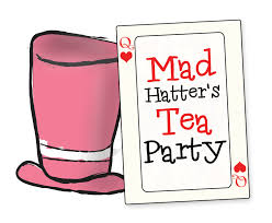 Image result for mad hatter's tea party + images