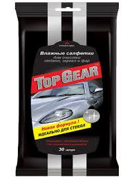 <b>Top</b> Gear №30 <b>влажные салфетки</b> для стекол и зеркал и фар <b>Top</b> ...