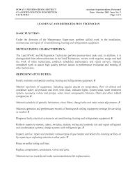 hvac technician resume getessay biz hvac and refrigeration technician example in hvac technician hvac resume