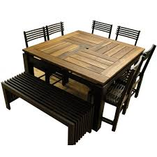 dining sets seater: impressive the seater oak tables dining amp kitchen tables to seat people with regard to  seat square dining table attractive