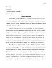 life of pi reading log   rana pooja rana ms mancini english honors   pages life of pi timed essay