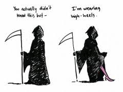Grim Reaper High Heels | WeKnowMemes via Relatably.com