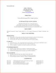 clerical resume example template clerical resume example