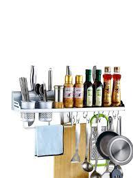 <b>Полка</b>-<b>держатель</b> для кухонных принадлежностей, настенная ...