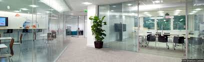 polar vision office partitioning with full height halo door frame bampm office desk desk office