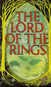 Image result for the lord of the rings book cover