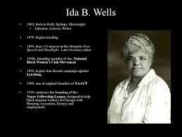 The 153rd birthday of Ida B. Wells | Talking Stuff