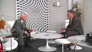 mid century modern roger sterlings office uses classic pieces easy to find today art roger sterling office