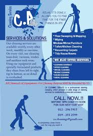 cacleaningservice cleaning services cleaner house cleaning flyers cacs 1