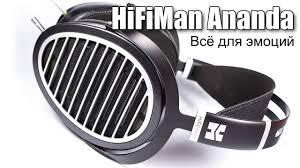Обзор <b>наушников HiFiMan</b> Ananda - YouTube