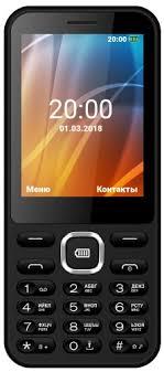 Мобильный <b>телефон Vertex</b> D525 Black - купить кнопочный ...