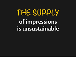 Image result for unsustainable Impression