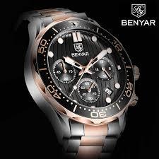 BENYAR 2020 New quartz <b>men's</b> watches <b>Multifunction sport</b> ...