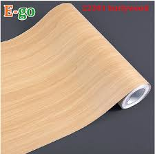 free shipping wq1101 woodgrain vinyl self adhesive paper waterproof furniture refrigerator kitchen cabinet wallpaper adhesive paper for furniture