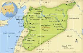 Risultati immagini per SYRIA  geopolitical maps