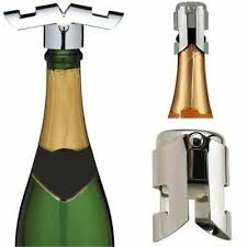 Bottle Stopper <b>1pc Portable Stainless</b> Champagne Wine Sealer Bar ...