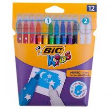<b>Фломастеры Bic</b> Kids <b>Magic</b> 12 цветов - купить по выгодной цене ...