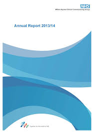 annual report milton keynes ccg annual report 2013 2014