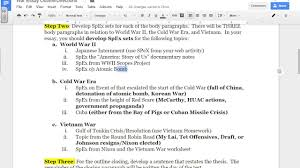 war essay outline directions war essay outline directions