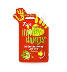 <b>Крем</b>-<b>парфюм 7 Days</b> Hand in Hand с персиком Happy hands 25 г ...