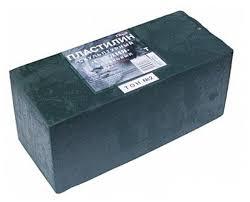 <b>Пластилин ГАММА Студия</b> твердый оливковый 1000 г (2.80.Е100 ...