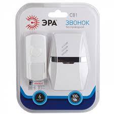 Купить Беспроводной <b>звонок ЭРА C81</b> Б0018971 в Москве, цена ...