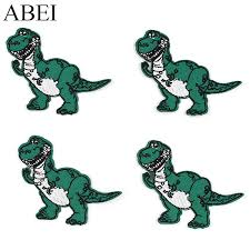 <b>10pcs</b>/lot Embroidered <b>dinosaur</b> Patches for Baby Clothes <b>Iron On</b> ...