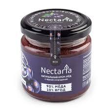 Крем-мед Nectaria с черной смородиной | <b>Крем</b>-<b>мед Nectaria с</b> ...