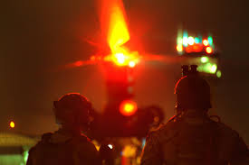 u s department of defense photo essay army rangers load a mh 47 chinook helicopter for night operational training on fort knox