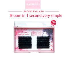 NAGARAKU Eyelashes <b>Makeup Eyelash Extension</b> Bloom Auto ...