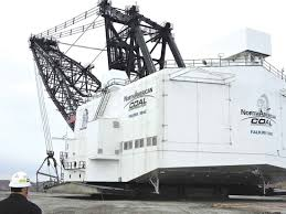 north dakota lignite then and now news sports jobs minot kim fundingsland mdn the massive dragline that removes earth above veins of lignite coal at