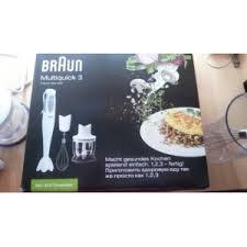 <b>Блендер Braun Multiquick</b> 3 MQ <b>325</b> Omelette | Отзывы покупателей