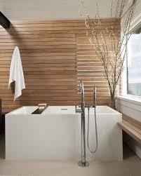 soaking tub small shape rectangle shape stunning nice wooden wall bright interior japanese soa