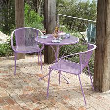 crossman piece outdoor bistro: woodard zuma iron  piece bistro set wdironset