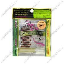 Мягкая <b>приманка Crazy Fish WHITEBAIT</b> 2,0 см (запах кальмара ...