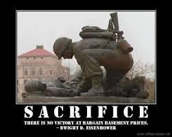 Army Quotes About Sacrifice. QuotesGram via Relatably.com