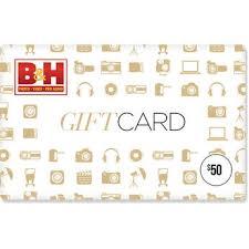 B&H Gift Cards | B&H Photo Video