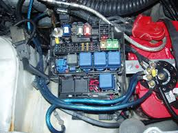 wiring altima electric fans into an s14 nico club i ran power from the terminal inside the fuse box in the engine bay to those relays then out to the 2nd fan