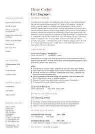 civil engineer resume template sample resume for civil engineer