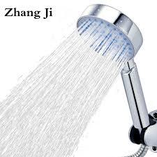 2019 High Quality <b>Five Fuction Silica</b> Gel Holes Shower Head Water ...