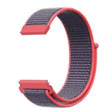 22mm 20mm HOOK LOOP <b>Nylon Watch Strap Band</b> For Amazfit ...