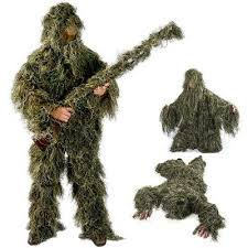 <b>Kids</b>/<b>Childrens</b> Woodland <b>Camo</b>/<b>Camouflage</b> Hunting 3D <b>Ghillie</b> ...