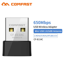 <b>Comfast CF 811AC 650Mbps Wireless</b> USB Wifi Adapter Receiver ...
