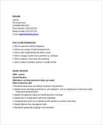 Electrician Apprentice Resume Sample Templates