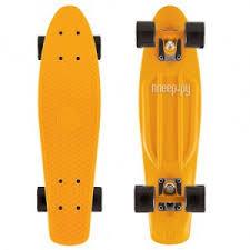 <b>Скейт Y-SCOO Fishskateboard 22</b> Orange-Black 401-O