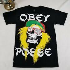 <b>OBEY</b> s черные рубашки для мужчин | eBay