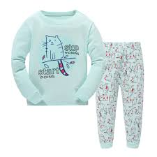compare prices on boys satin pajamas online shopping buy low cute cartoon pyjamas kidstracksuit for boys girls toddler pajamas clothing set cotton top pants children